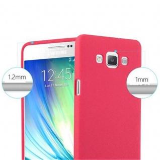 Cadorabo Hülle für Samsung Galaxy A5 2015 in FROST ROT - Handyhülle aus flexiblem TPU Silikon - Silikonhülle Schutzhülle Ultra Slim Soft Back Cover Case Bumper - Vorschau 5