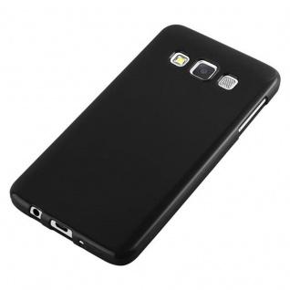 Cadorabo Hülle für Samsung Galaxy A3 2015 in JELLY SCHWARZ - Handyhülle aus flexiblem TPU Silikon - Silikonhülle Schutzhülle Ultra Slim Soft Back Cover Case Bumper - Vorschau 5