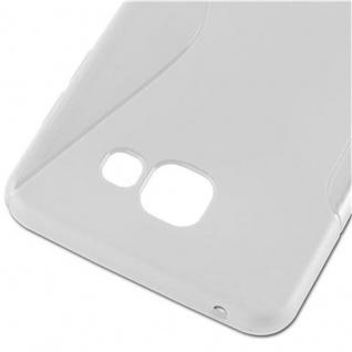 Cadorabo Hülle für Samsung Galaxy A7 2016 in HALB TRANSPARENT - Handyhülle aus flexiblem TPU Silikon - Silikonhülle Schutzhülle Ultra Slim Soft Back Cover Case Bumper - Vorschau 2