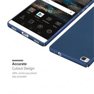 Cadorabo Hülle für Huawei P8 in METALL BLAU - Hardcase Handyhülle aus Plastik gegen Kratzer und Stöße - Schutzhülle Bumper Ultra Slim Back Case Hard Cover - Vorschau 3