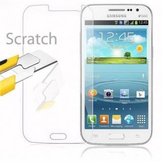 Cadorabo Panzer Folie für Samsung Galaxy WIN - Schutzfolie in KRISTALL KLAR - Gehärtetes (Tempered) Display-Schutzglas in 9H Härte mit 3D Touch Kompatibilität - Vorschau 2