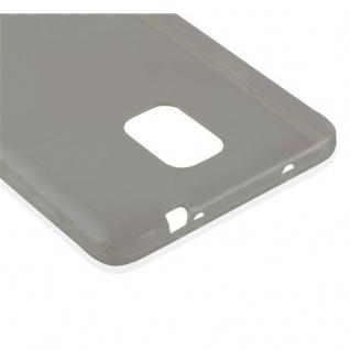 Cadorabo Hülle für Samsung Galaxy NOTE 4 in TRANSPARENT SCHWARZ - Handyhülle aus flexiblem TPU Silikon - Silikonhülle Schutzhülle Ultra Slim Soft Back Cover Case Bumper - Vorschau 4