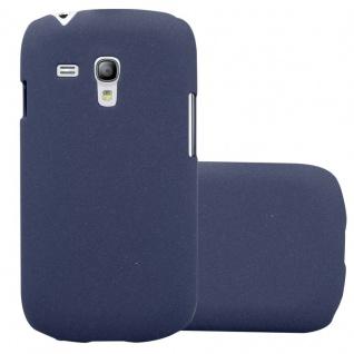 Cadorabo Hülle für Samsung Galaxy S3 MINI in FROSTY BLAU - Hardcase Handyhülle aus Plastik gegen Kratzer und Stöße - Schutzhülle Bumper Ultra Slim Back Case Hard Cover