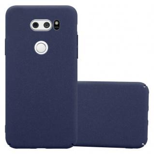 Cadorabo Hülle für LG V30 in FROSTY BLAU - Hardcase Handyhülle aus Plastik gegen Kratzer und Stöße - Schutzhülle Bumper Ultra Slim Back Case Hard Cover