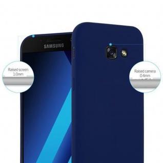 Cadorabo Hülle für Samsung Galaxy A3 2017 in CANDY DUNKEL BLAU - Handyhülle aus flexiblem TPU Silikon - Silikonhülle Schutzhülle Ultra Slim Soft Back Cover Case Bumper - Vorschau 2