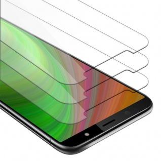 Cadorabo 3x Panzer Folie für HTC U12 LIFE - Schutzfolie in KRISTALL KLAR - 3er Pack Gehärtetes (Tempered) Display-Schutzglas in 9H Härte mit 3D Touch Kompatibilität
