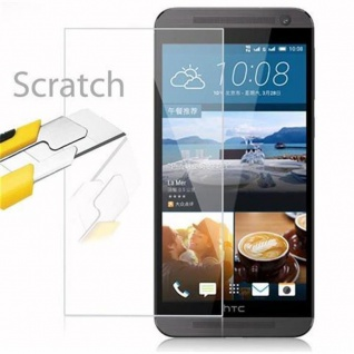 Cadorabo Panzer Folie für HTC ONE E9 - Schutzfolie in KRISTALL KLAR - Gehärtetes (Tempered) Display-Schutzglas in 9H Härte mit 3D Touch Kompatibilität - Vorschau 2