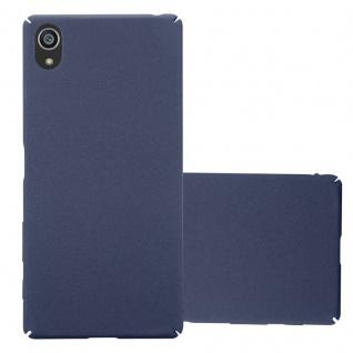 Cadorabo Hülle für Sony Xperia Z5 in FROSTY BLAU Hardcase Handyhülle aus Plastik gegen Kratzer und Stöße Schutzhülle Bumper Ultra Slim Back Case Hard Cover