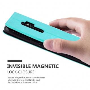 Cadorabo Hülle für Samsung Galaxy S9 PLUS in MINT TÜRKIS ? Handyhülle mit Magnetverschluss, Standfunktion und 2 Sichtfenstern ? Case Cover Schutzhülle Etui Tasche Book Klapp Style - Vorschau 5