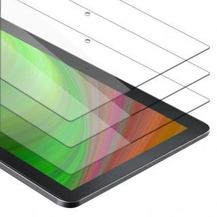 """Cadorabo 3x Panzer Folie für Lenovo Tab 4 10 (10.1"""" Zoll) Schutzfolie in KRISTALL KLAR 3er Pack Gehärtetes (Tempered) Display-Schutzglas in 9H Härte mit 3D Touch Kompatibilität"""