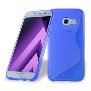 Cadorabo Hülle für Samsung Galaxy A5 2017 in ROYAL BLAU ? Handyhülle aus flexiblem TPU Silikon ? Silikonhülle Schutzhülle Ultra Slim Soft Back Cover Case Bumper