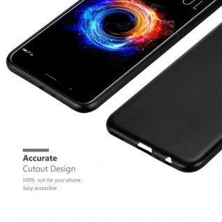 Cadorabo Hülle für Honor 8 PRO in METALLIC SCHWARZ - Handyhülle aus flexiblem TPU Silikon - Silikonhülle Schutzhülle Ultra Slim Soft Back Cover Case Bumper - Vorschau 5