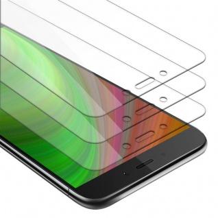 Cadorabo 3x Panzer Folie für Xiaomi RedMi NOTE 4 - Schutzfolie in KRISTALL KLAR - 3er Pack Gehärtetes (Tempered) Display-Schutzglas in 9H Härte mit 3D Touch Kompatibilität
