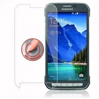 Cadorabo Panzer Folie für Samsung Galaxy S5 Active - Schutzfolie in KRISTALL KLAR - Gehärtetes (Tempered) Display-Schutzglas in 9H Härte mit 3D Touch Kompatibilität - Vorschau 4