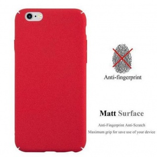 Cadorabo Hülle für Apple iPhone 6 / iPhone 6S in FROSTY ROT - Hardcase Handyhülle aus Plastik gegen Kratzer und Stöße - Schutzhülle Bumper Ultra Slim Back Case Hard Cover - Vorschau 2
