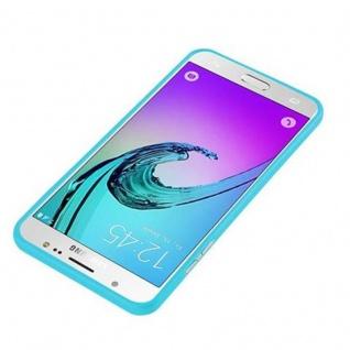 Cadorabo Hülle für Samsung Galaxy J7 2015 in JELLY HELL BLAU - Handyhülle aus flexiblem TPU Silikon - Silikonhülle Schutzhülle Ultra Slim Soft Back Cover Case Bumper - Vorschau 2