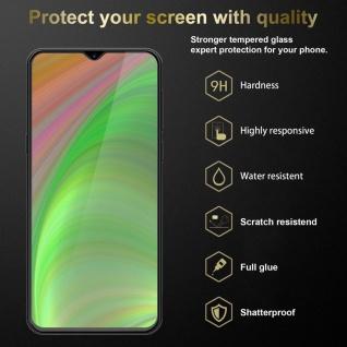 Cadorabo Panzer Folie für Samsung Galaxy M30s - Schutzfolie in KRISTALL KLAR - Gehärtetes (Tempered) Display-Schutzglas in 9H Härte mit 3D Touch Kompatibilität - Vorschau 2