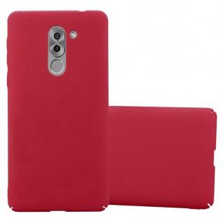 Cadorabo Hülle für Honor 6X in FROSTY ROT - Hardcase Handyhülle aus Plastik gegen Kratzer und Stöße - Schutzhülle Bumper Ultra Slim Back Case Hard Cover