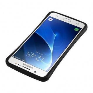 Cadorabo Hülle für Samsung Galaxy J5 2016 - Hülle in MEERES BLAU ? Small Waist Handyhülle mit rutschfestem Gummi-Rücken - Hard Case TPU Silikon Schutzhülle - Vorschau 5