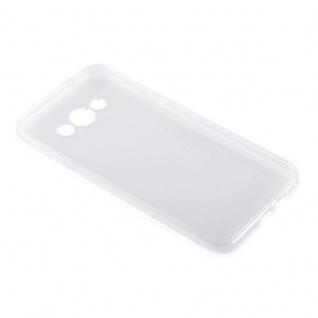 Cadorabo Hülle für Samsung Galaxy A8 2015 (5) - Hülle in VOLL TRANSPARENT ? Handyhülle aus TPU Silikon im Ultra Slim 'AIR' Design - Silikonhülle Schutzhülle Soft Back Cover Case Bumper - Vorschau 3