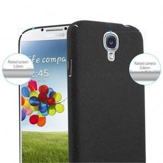 Cadorabo Hülle für Samsung Galaxy S4 in FROSTY SCHWARZ - Hardcase Handyhülle aus Plastik gegen Kratzer und Stöße - Schutzhülle Bumper Ultra Slim Back Case Hard Cover - Vorschau 5