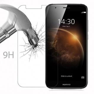 Cadorabo Panzer Folie für Huawei G7 PLUS / G8 / GX8 - Schutzfolie in KRISTALL KLAR - Gehärtetes (Tempered) Display-Schutzglas in 9H Härte mit 3D Touch Kompatibilität - Vorschau 3