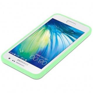 Cadorabo Hülle für Samsung Galaxy A3 2015 in CANDY PASTELL GRÜN - Handyhülle aus flexiblem TPU Silikon - Silikonhülle Schutzhülle Ultra Slim Soft Back Cover Case Bumper - Vorschau 4