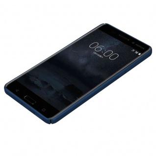 Cadorabo Hülle für Nokia 6 2017 in METALL BLAU ? Hardcase Handyhülle aus Plastik gegen Kratzer und Stöße ? Schutzhülle Bumper Ultra Slim Back Case Hard Cover - Vorschau 3