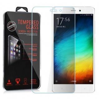 Cadorabo Panzerglas für Xiaomi Note - Schutzfolie in KRISTALL KLAR ? Gehärtetes (Tempered) Display-Schutzglas in 9H Härte mit 3D Touch Kompatibilität