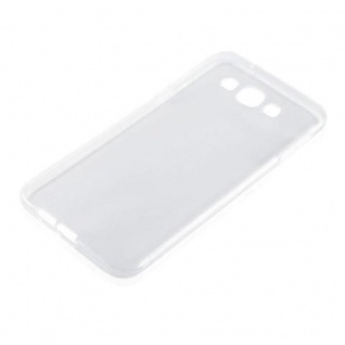 Cadorabo Hülle für Samsung Galaxy A8 2015 (5) - Hülle in VOLL TRANSPARENT ? Handyhülle aus TPU Silikon im Ultra Slim 'AIR' Design - Silikonhülle Schutzhülle Soft Back Cover Case Bumper - Vorschau 2