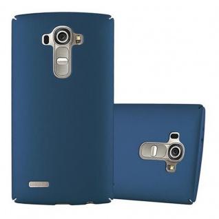 Cadorabo Hülle für LG G4 / G4 PLUS in METALL BLAU - Hardcase Handyhülle aus Plastik gegen Kratzer und Stöße - Schutzhülle Bumper Ultra Slim Back Case Hard Cover