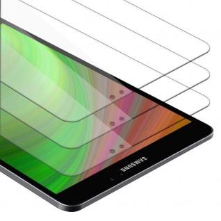 """Cadorabo 3x Panzer Folie für Samsung Galaxy Tab S2 (8.0"""" Zoll) SM-T715N / T719N Schutzfolie in KRISTALL KLAR 3er Pack Gehärtetes (Tempered) Display-Schutzglas"""