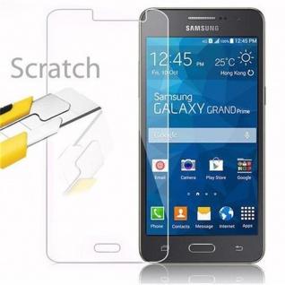 Cadorabo Panzer Folie für Samsung Galaxy GRAND PRIME - Schutzfolie in KRISTALL KLAR - Gehärtetes (Tempered) Display-Schutzglas in 9H Härte mit 3D Touch Kompatibilität - Vorschau 2