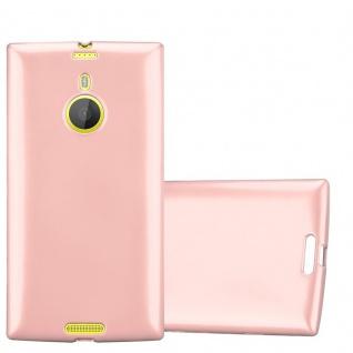 Cadorabo Hülle für Nokia Lumia 1520 in METALLIC ROSÉ GOLD - Handyhülle aus flexiblem TPU Silikon - Silikonhülle Schutzhülle Ultra Slim Soft Back Cover Case Bumper