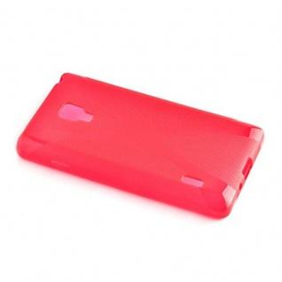 Cadorabo Hülle für LG OPTIMUS L7 (2.Gen.) in INFERNO ROT - Handyhülle aus flexiblem TPU Silikon - Silikonhülle Schutzhülle Ultra Slim Soft Back Cover Case Bumper - Vorschau 2