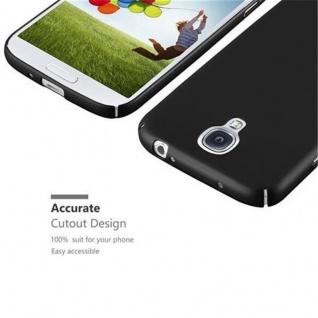 Cadorabo Hülle für Samsung Galaxy S4 in METALL SCHWARZ - Hardcase Handyhülle aus Plastik gegen Kratzer und Stöße - Schutzhülle Bumper Ultra Slim Back Case Hard Cover - Vorschau 3