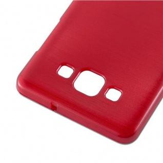 Cadorabo Hülle für Samsung Galaxy A5 2015 in ROT - Handyhülle aus flexiblem TPU Silikon - Silikonhülle Schutzhülle Ultra Slim Soft Back Cover Case Bumper - Vorschau 4