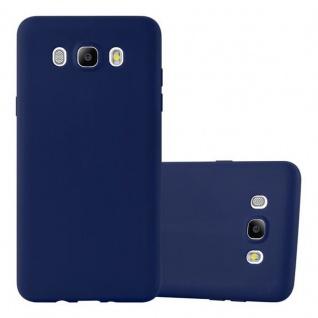 Cadorabo Hülle für Samsung Galaxy J5 2016 in CANDY DUNKEL BLAU Handyhülle aus flexiblem TPU Silikon Silikonhülle Schutzhülle Ultra Slim Soft Back Cover Case Bumper