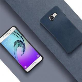 Cadorabo Hülle für Samsung Galaxy A5 2016 (6) - Hülle in MEERES BLAU - Small Waist Handyhülle mit rutschfestem Gummi-Rücken - Hard Case TPU Silikon Schutzhülle - Vorschau 2