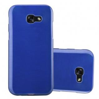 Cadorabo Hülle für Samsung Galaxy A3 2017 in BLAU - Handyhülle aus flexiblem TPU Silikon - Silikonhülle Schutzhülle Ultra Slim Soft Back Cover Case Bumper