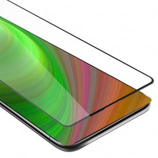 Cadorabo Vollbild Panzer Folie für Xiaomi Mi Mix 2S - Schutzfolie in TRANSPARENT mit SCHWARZ - Gehärtetes (Tempered) Display-Schutzglas in 9H Härte mit 3D Touch Kompatibilität