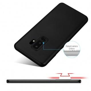 Cadorabo Hülle für Samsung Galaxy S9 PLUS in METALL SCHWARZ - Hardcase Handyhülle aus Plastik gegen Kratzer und Stöße - Schutzhülle Bumper Ultra Slim Back Case Hard Cover - Vorschau 4