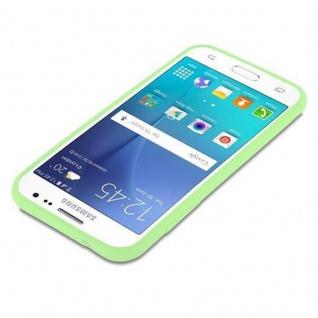 Cadorabo Hülle für Samsung Galaxy J2 2015 in CANDY PASTELL GRÜN - Handyhülle aus flexiblem TPU Silikon - Silikonhülle Schutzhülle Ultra Slim Soft Back Cover Case Bumper - Vorschau 3