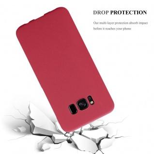 Cadorabo Hülle für Samsung Galaxy S8 PLUS in FROSTY ROT - Hardcase Handyhülle aus Plastik gegen Kratzer und Stöße - Schutzhülle Bumper Ultra Slim Back Case Hard Cover - Vorschau 3