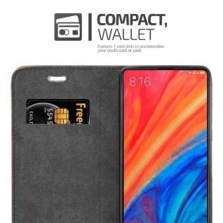 Cadorabo Hülle für Xiaomi Mi MIX 2S in KAFFEE BRAUN - Handyhülle mit Magnetverschluss, Standfunktion und Kartenfach - Case Cover Schutzhülle Etui Tasche Book Klapp Style - Vorschau 3