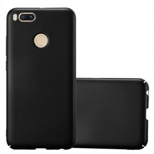 Cadorabo Hülle für Xiaomi Mi A1 / 5X in METALL SCHWARZ ? Hardcase Handyhülle aus Plastik gegen Kratzer und Stöße ? Schutzhülle Bumper Ultra Slim Back Case Hard Cover