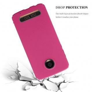 Cadorabo Hülle für Motorola MOTO Z2 PLAY in FROSTY PINK - Hardcase Handyhülle aus Plastik gegen Kratzer und Stöße - Schutzhülle Bumper Ultra Slim Back Case Hard Cover - Vorschau 5