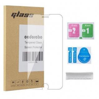 Cadorabo Panzerglas für Apple iPhone 8 PLUS / 7 PLUS / 7S PLUS - Schutzfolie in KRISTALL KLAR ? Gehärtetes (Tempered) Display-Schutzglas in 9H Härte mit 3D Touch Kompatibilität