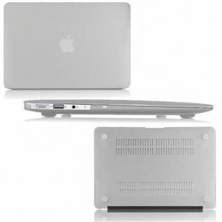Cadorabo - Mattes HardCase für Apple MacBook AIR 11 (Zoll) ? Case Hartschale Schutzhülle Cover MacBook Tasche in TRANSPARENT - leicht und schützend