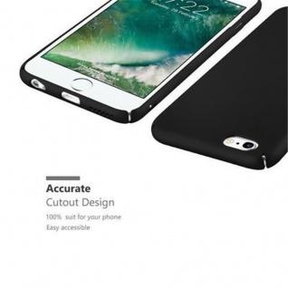 Cadorabo Hülle für Apple iPhone 6 / iPhone 6S in METALL SCHWARZ - Hardcase Handyhülle aus Plastik gegen Kratzer und Stöße - Schutzhülle Bumper Ultra Slim Back Case Hard Cover - Vorschau 3